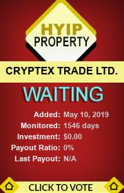 ссылка на мониторинг http://hyip-property.com/details/lid/216