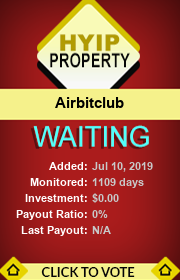 ссылка на мониторинг http://hyip-property.com/details/lid/283