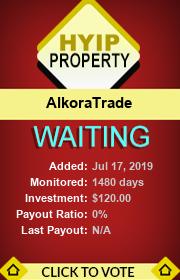 ссылка на мониторинг https://hyip-property.com/details/lid/317