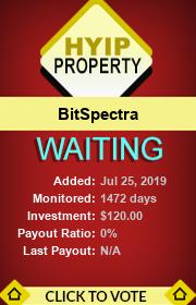 ссылка на мониторинг https://hyip-property.com/details/lid/341